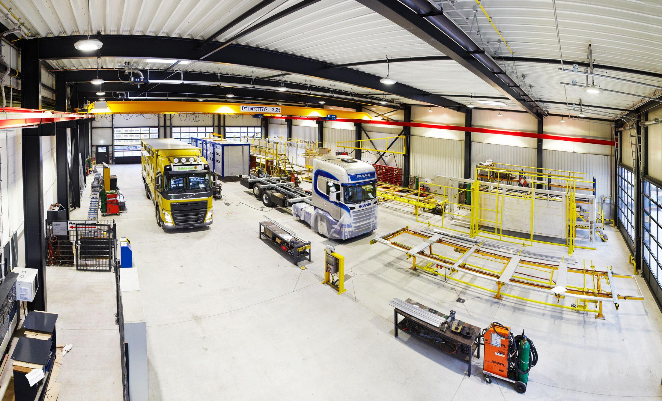 Fahrzeugbau und LKW Werkstatt von FIEGEtec