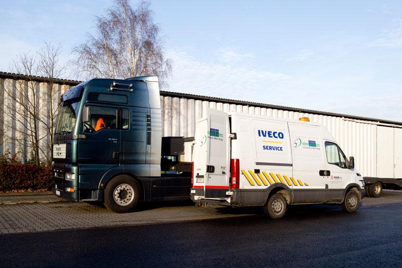 Bild von einem Iveco Service-Mobil
