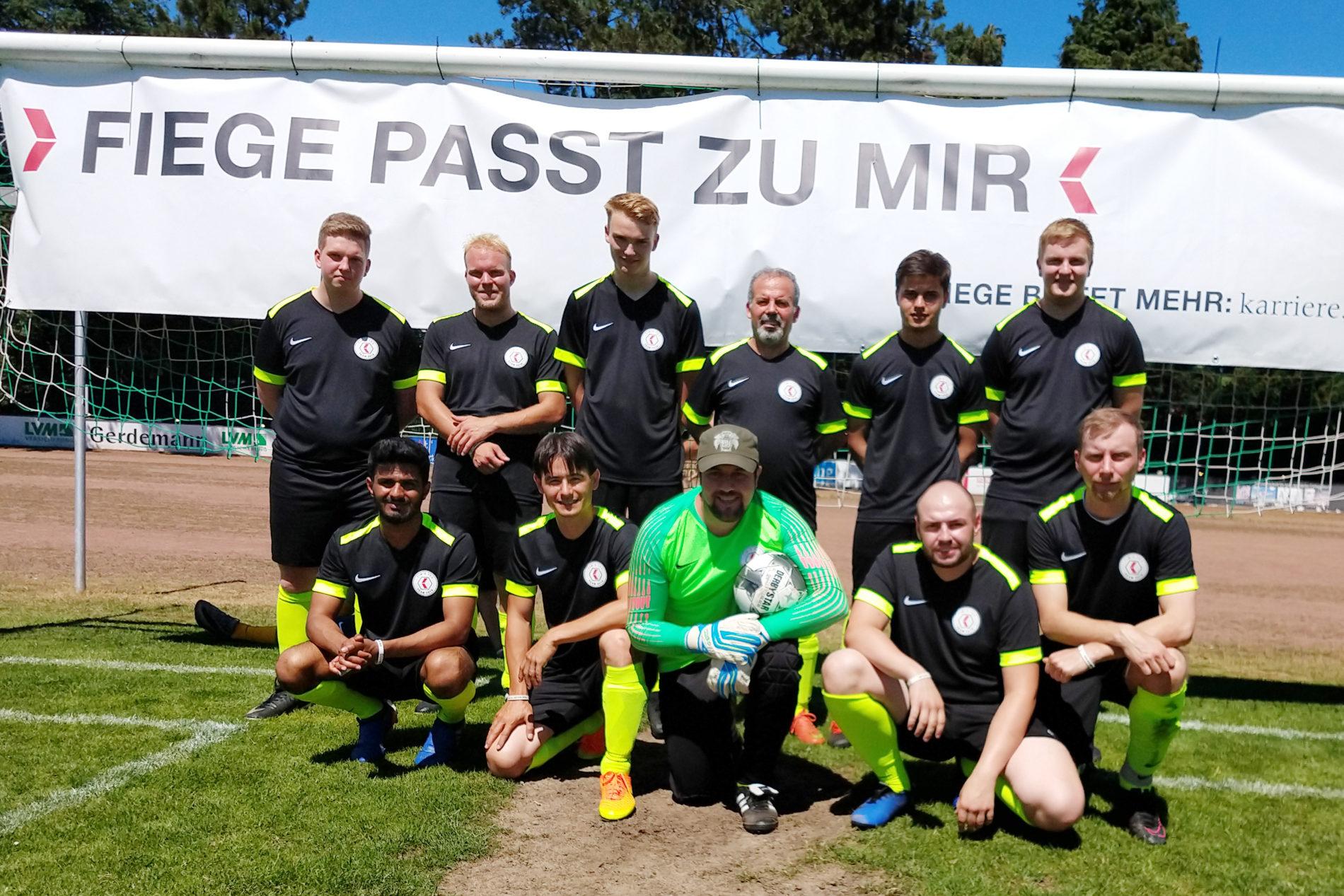 FIEGE tec erstmals mit eigener Mannschaft dabei!